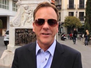 Touch: Kiefer Sutherland's Global Press Tour: Madrid
