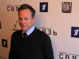 Touch: Kiefer Sutherland's Global Press Tour: Moscow