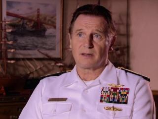Battleship: Liam Neeson On The Uss Missouri