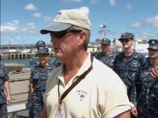 Battleship: On The Set: Capt. Rick's Boot Camp (Featurette)