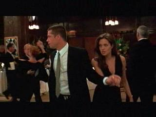 Mr. And Mrs. Smith Scene: Dance With Me