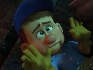 Wreck-It Ralph: Felix Meets Sergeant Calhoun