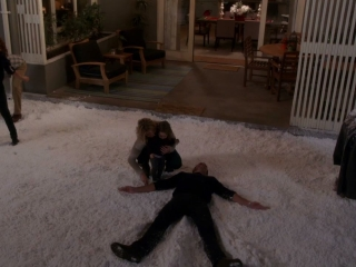Up All Night: Chris Makes A Snow Angel