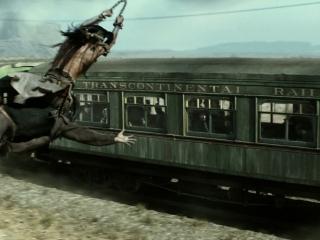 The Lone Ranger: Trains (Featurette)