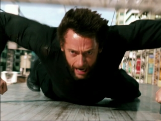 The Wolverine: Train Fight