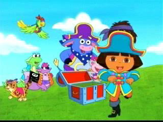 Dora The Explorer Doras Pirate Adventure Trailer 2004 Video