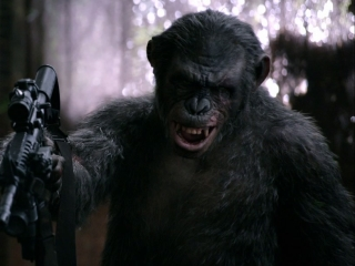 Dawn Of The Planet Of The Apes: You Want A Drink?