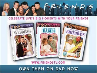 Friends: The One With All The Babies, Birthdays And Weddings