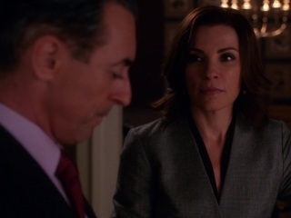 The Good Wife: The Line