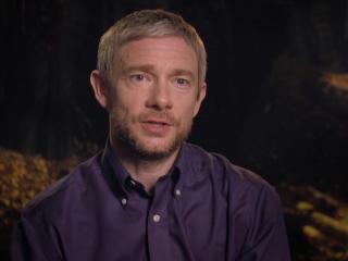 The Hobbit: Battle Of The Five Armies: Martin Freeman On Ian As Gandalf