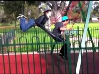 World's Funniest Fails: Swing Shot