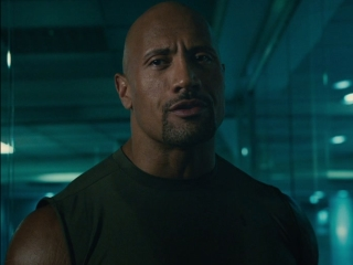 Furious 7: Hobbs Discovers Shaw In His Office