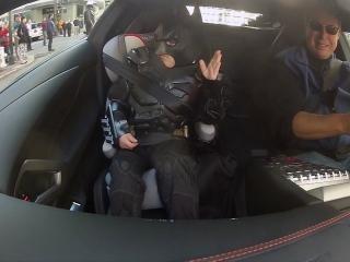 Batkid Begins: Meet The Lamborghini