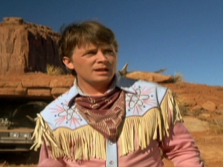 Back To The Future Part III: Marty Lands In 1885
