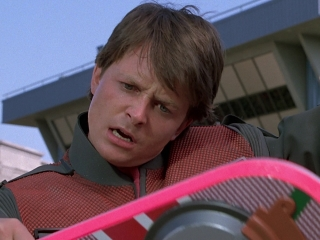 Back To The Future Part II: The Hoverboard Chase
