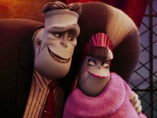 Hotel Transylvania 2 Frank And Eunice Character Vignette Spanish 2015