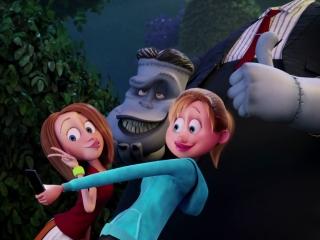 Hotel Transylvania 2 Selfie With Frankenstein Spanish Clip 2015
