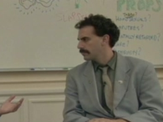Borat Scene: Not Joke