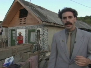Borat Scene: She Is My Sister